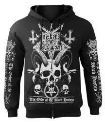 bluza DARK FUNERAL - ORDER OF THE BLACK HORDES, rozpinana z kapturem