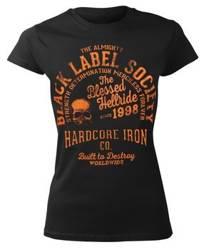 bluzka damska BLACK LABEL SOCIETY - HARDCORE HELLRIDE