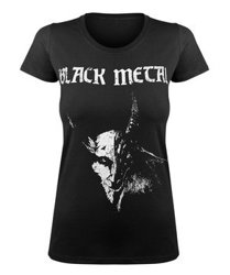bluzka damska BLACK METAL