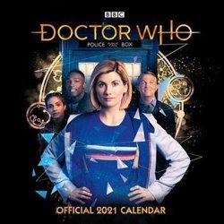 kalendarz DOCTOR WHO 2021