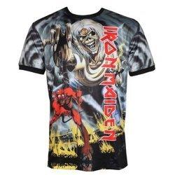 koszulka IRON MAIDEN - NUMBER OF THE BEAST, techniczna