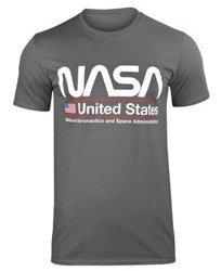 koszulka NASA - UNITED STATES ciemnoszara