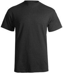 koszulka STEDMAN czarna, bez nadruku