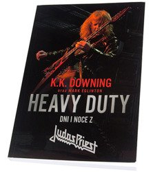 książka HEAVY DUTY - DNI I NOCE Z JUDAS PRIEST  - K.K Downing