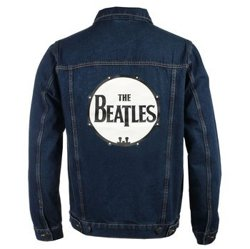 kurtka THE BEATLES - DRUM LOGO DENIM JACKET