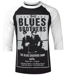 longsleeve BLUES BROTHERS - POSTER, rękaw 3/4