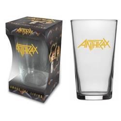 szklanka do piwa ANTHRAX - LOGO