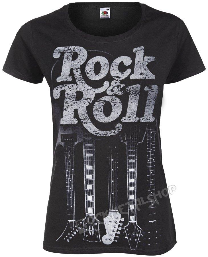 Bluzka Damska Rock Roll Guitars Sklep Metalhead Pl Rockowe Ciuchy Dla Fanów Muzyki Rock Metal Punk