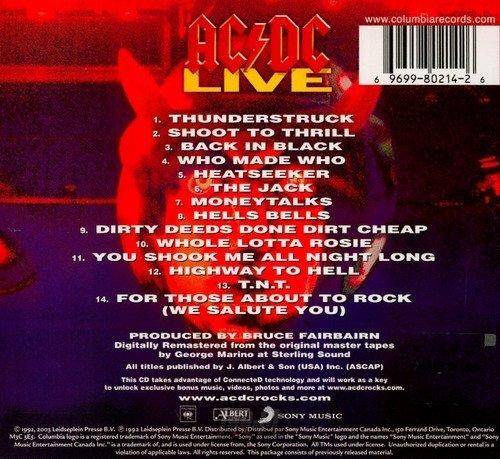 AC/DC : LIVE (CD)