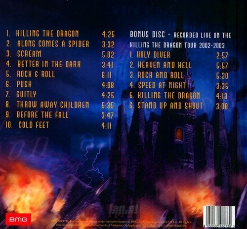 DIO: KILLING THE DRAGON (2CD)
