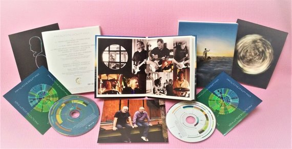 PINK FLOYD: THE ENDLESS RIVER (CD+DVD) DELUXE