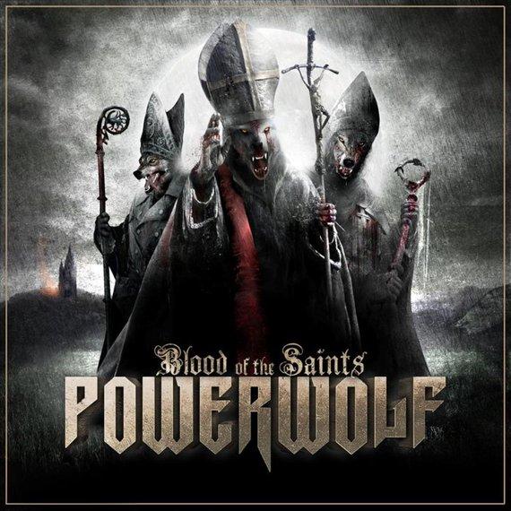 POWERWOLF: BLOOD OF THE SAINTS (LP VINYL)