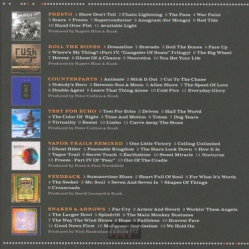 RUSH : STUDIO ALBUMS 1989-2007 (7CD)