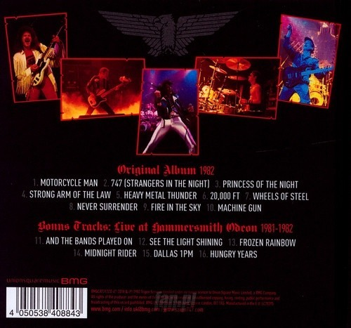 SAXON: THE EAGLE HAS ENDED - LIVE (CD)