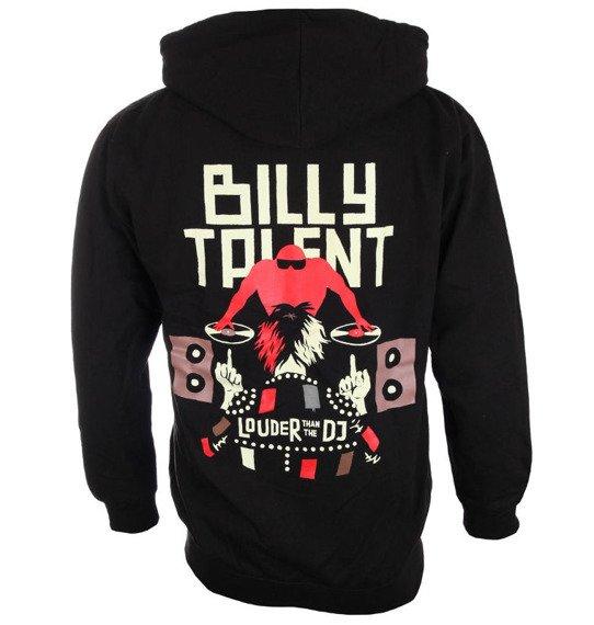 bluza BILLY TALENT - LOUDER THAN THE DJ, rozpinana z kapturem