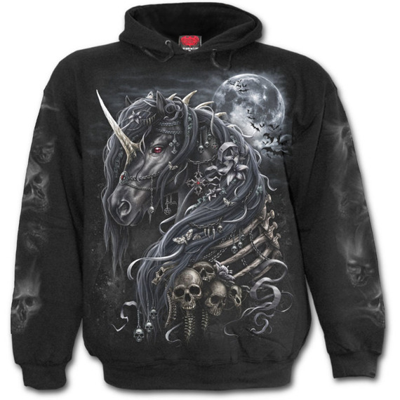 bluza DARK UNICORN, kangurka z kapturem