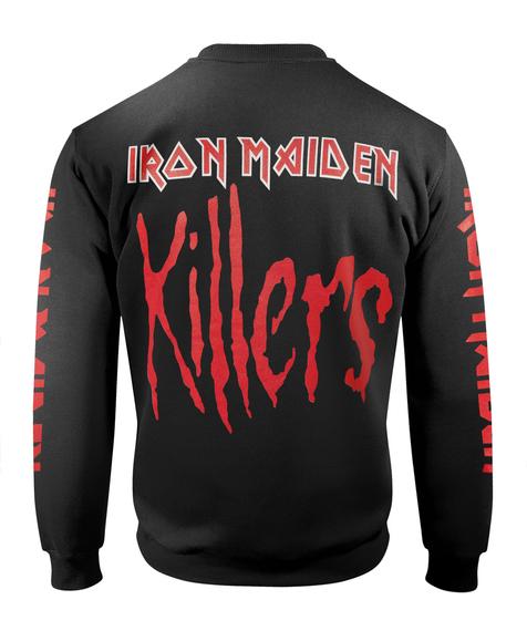 bluza IRON MAIDEN - KILLERS bez kaptura