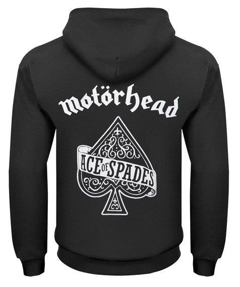 bluza MOTORHEAD - ACE OF SPADES rozpinana, z kapturem