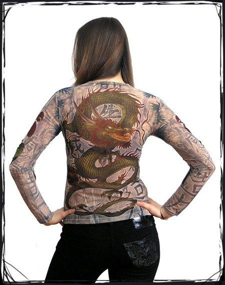 bluzka damska CHIŃSKI SMOK