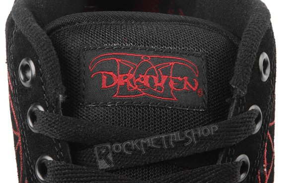 buty DRAVEN - SLIPKNOT MAGGOT black