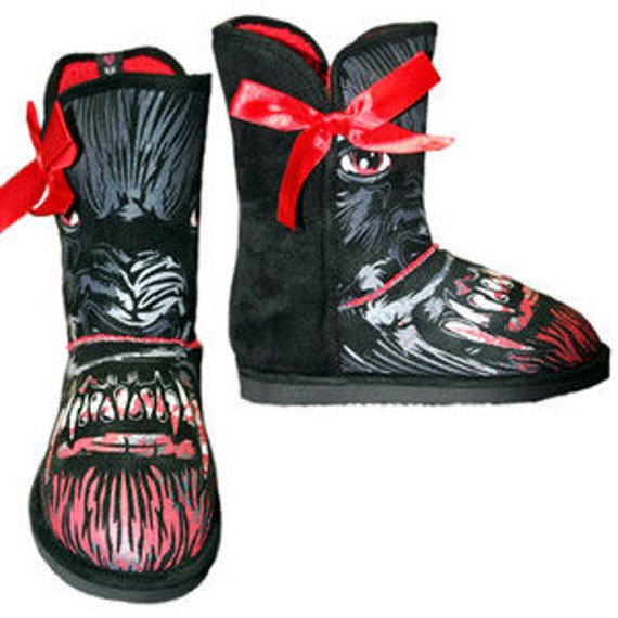 buty  IRON FIST - WOLFBEATER MEDIUM FUG BOT (BLACK/RED)