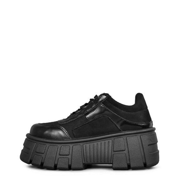buty damskie ALTERCORE czarne (QUINN VEGAN BLACK)
