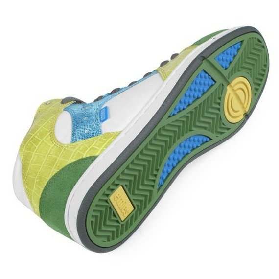 buty damskie ETNIES - PERRY MID (GREEN/WHITE/YELLOW) 09'