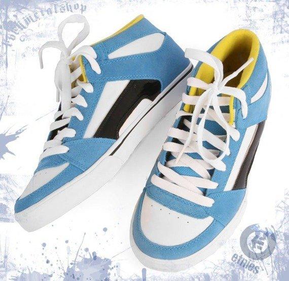 buty damskie ETNIES - RVM (BLUE/WHITE/YELLOW) 09'