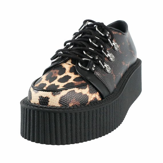 buty damskie creepers KILLSTAR - SCRATCHED OUT