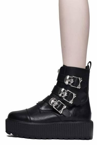 buty damskie na podeszwie KILLSTAR - DARK GUILD