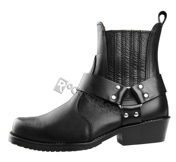 buty motocyklowe STEADY'S czarne (MOTOR/kow)