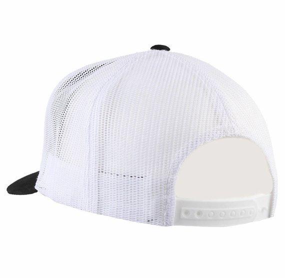 czapka BLACK HEART - FLAG - WHITE