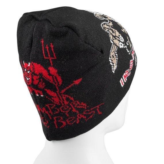 czapka IRON MAIDEN - NUMBER OF THE BEAST, zimowa
