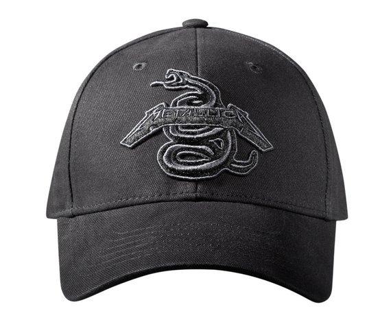 czapka METALLICA - BLACK ALBUM SNAKE