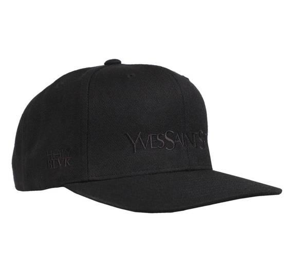 czapka YVES SAINT SATAN BLACK