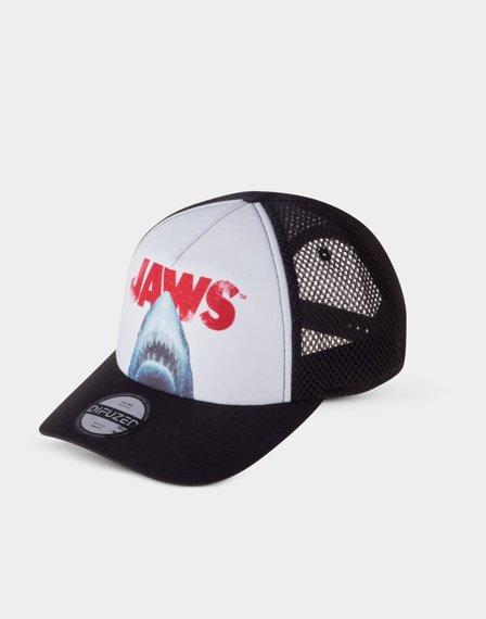czapka truckerka SZCZĘKI - JAWS