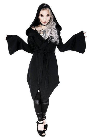 gotycka bluza damska z D-ringami