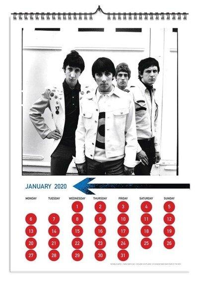 kalendarz THE WHO 2020