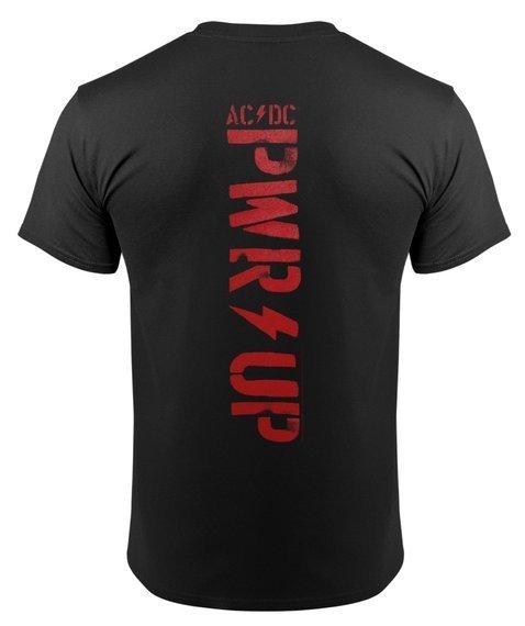 koszulka AC/DC - PWR UP ANGUS LIGHTNING