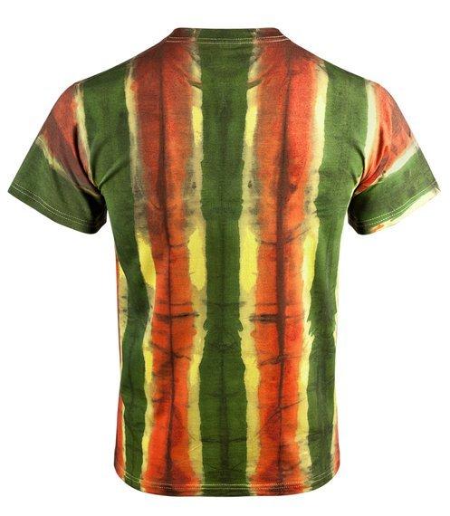 koszulka BARWY RASTA barwiona