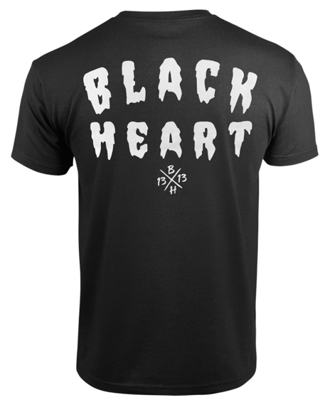 koszulka BLACK HEART - FUCKER BLACK