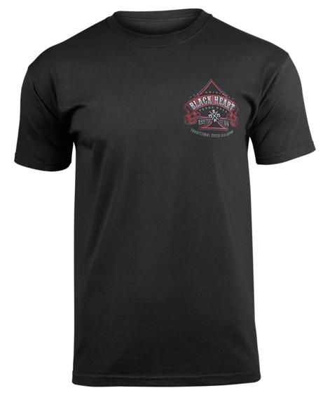 koszulka BLACK HEART - HOT ROD BLACK