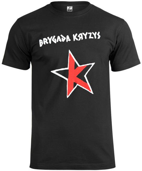koszulka BRYGADA KRYZYS biało-czerwona