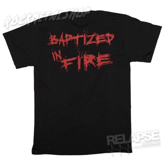 koszulka BURNING HUMAN - BAPTIZED IN FIRE