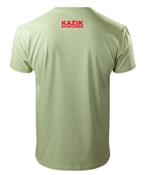 koszulka KAZIK - ODDALENIE PROSTA ZIELONA