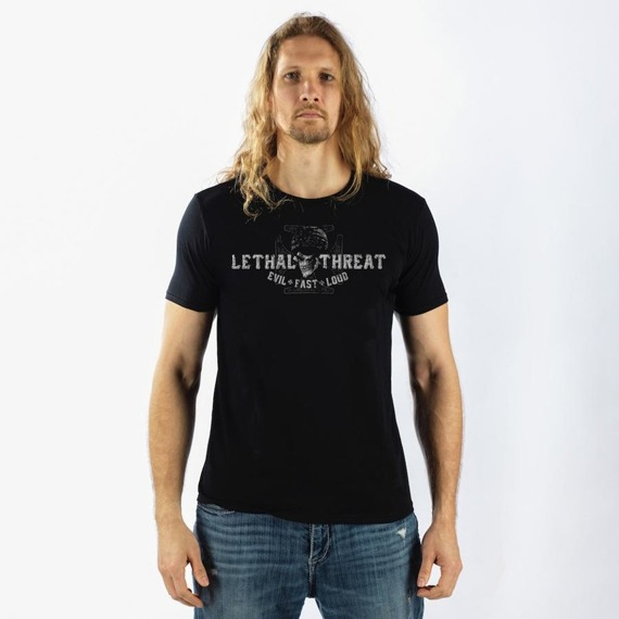 koszulka LETHAL THREAT - BIKER FROM HELL