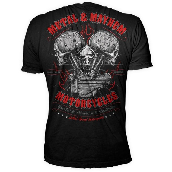 koszulka LETHAL THREAT - METAL MAYHEM