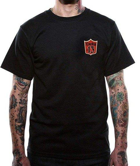 koszulka LUCKY 13 - CUSTOM CLEAN