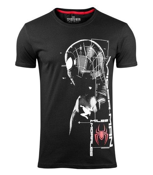 koszulka MARVEL - SPIDER-MAN MILES MORALES - SILHOUETTE