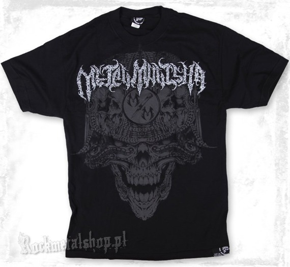 koszulka METAL MULISHA - BIOMATRIX czarna